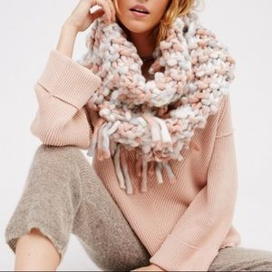 Free People Bundle Baby chunky cowl infinity scarf